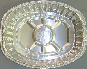 Picture of Foil Tray Oval Large