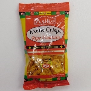 Picture of Asiko Plantain Chips 75g (Chilli)