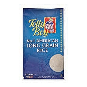 Picture of Tolly Boy American Long Grain Rice 20kg