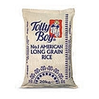 Picture of Tolly Boy American Long Grain Rice 20kg – Hessian Bag