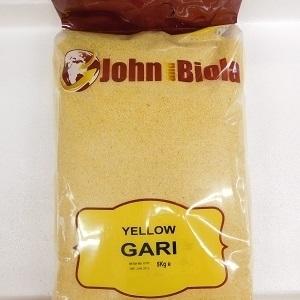 Picture of John & Biola Yellow Gari 10kg Plain Bag