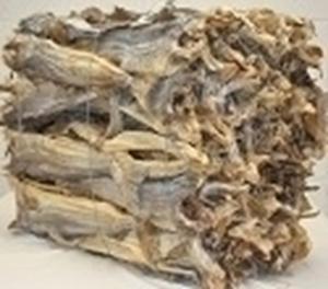 Picture of Cod  Stockfish Okporoko Large-XLarge  50/70cm (Gadus Morhua) - WHOLESALE BAG 22KG