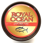 Picture of Royal Ocean Light Meat Tuna in Sunflower Oil 24 x 185g