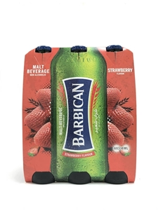 Picture of Barbiacan Strawberry Flavoured Malt 6 x 330ml