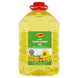 Picture of KTC Sunflower Oil 3 x 5ltr PET - WHOLESALE